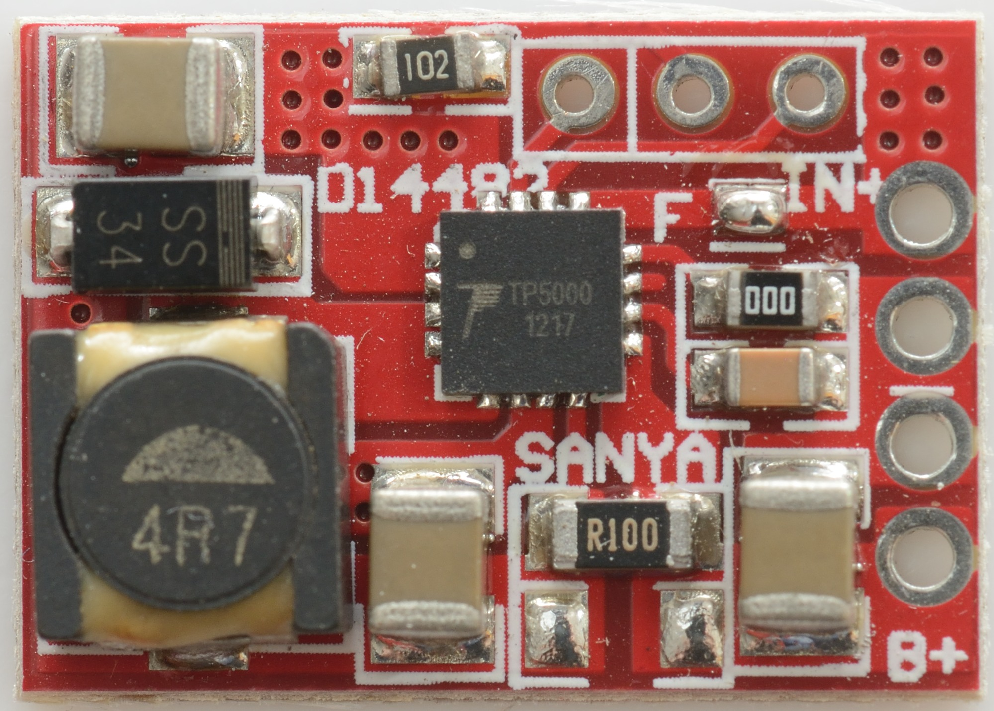 Test Review Of Charger 15a 36 42v Tp5000 What Resistor Should I Use In An Led Circuit Ebay There Is Only Components On One Side The Board Switcher Chip With Inductor Diode And Current Sense Resistors