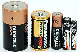 Store batterier